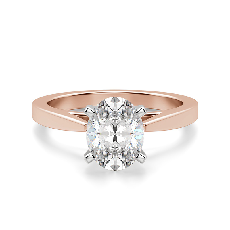 Classic prong engagement ring