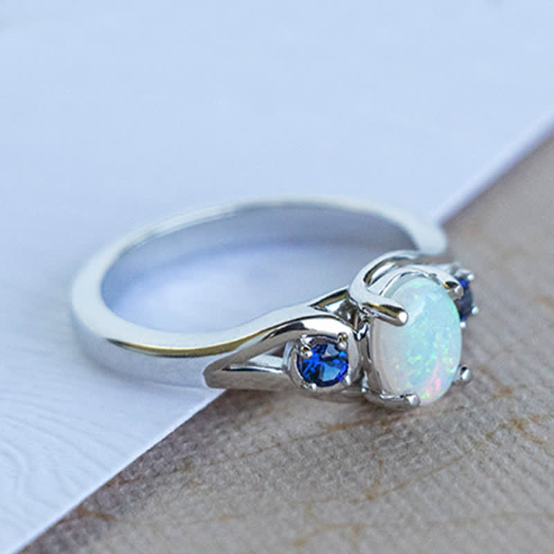 A Victorian-inspired vintage engagement ring