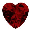 Ruby Heart Cut view 0