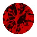 Ruby Round Brilliant Cutview 0