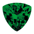 Emerald Trillion Cutview 0