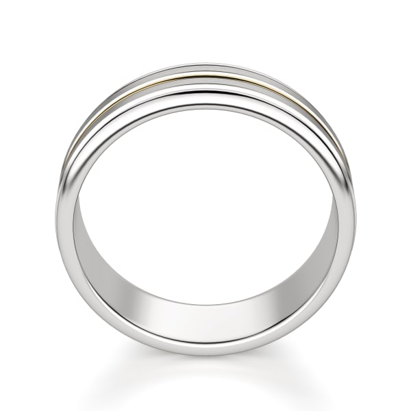 Hover, 14K White/Yellow Gold,