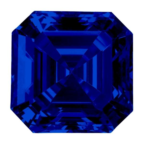 Sapphire Asscher Cut