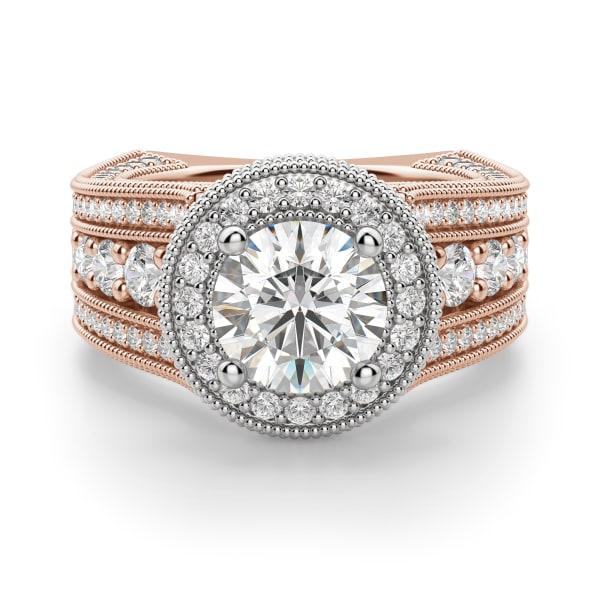Default, 14K Rose/ White Gold,