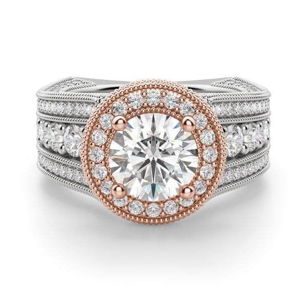 Default, 14K White/ Rose Gold,