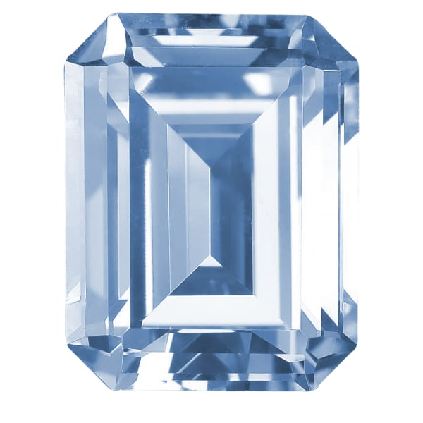 Glacial Ice Emerald Cut