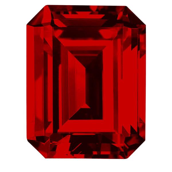Ruby Emerald Cut