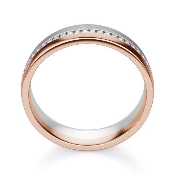 Hover, 14K White/Rose Gold,