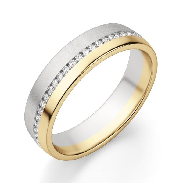 14K White/Yellow Gold,