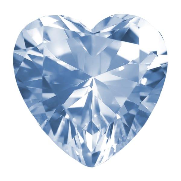 Glacial Ice Heart Cut