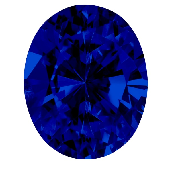 Sapphire Oval Cut