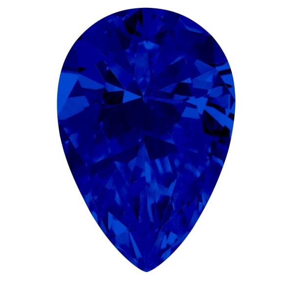 Sapphire Pear Cut