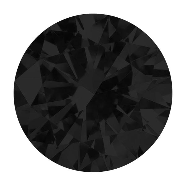 Black Round Brilliant Cut