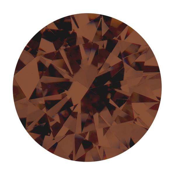 Chocolate Round Brilliant Cut