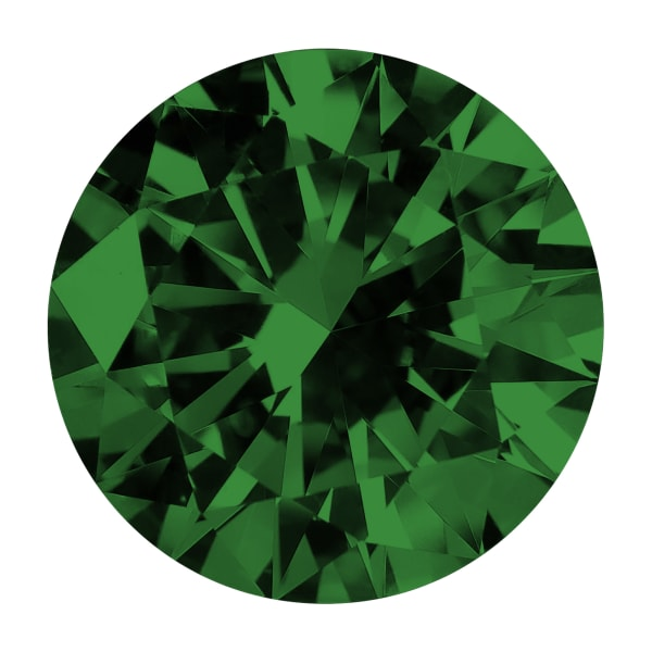 Emerald Round Brilliant Cut