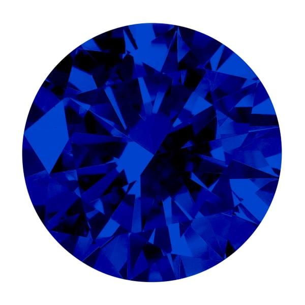 Sapphire Round Brilliant Cut