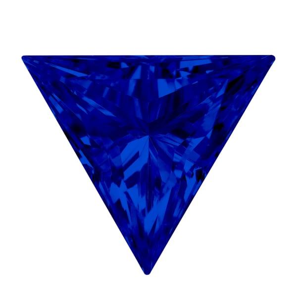 Sapphire Triangle Cut