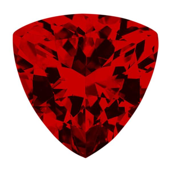 Ruby Trillion Cut