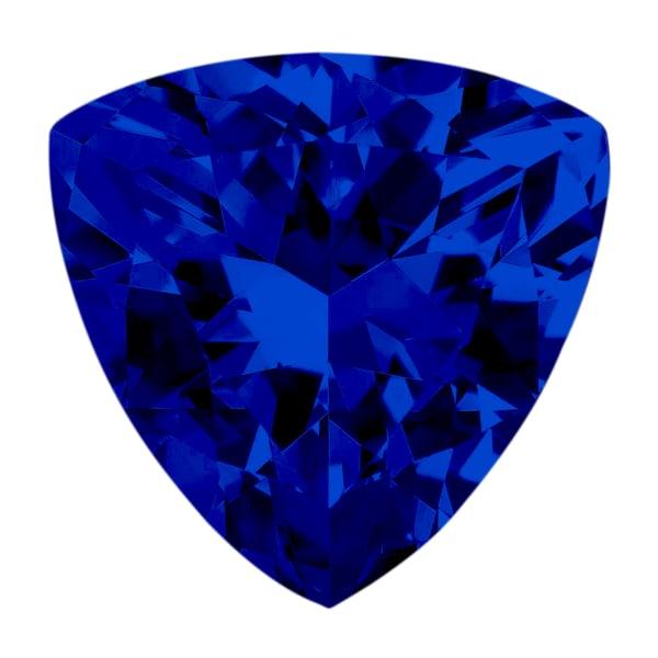 Sapphire Trillion Cut