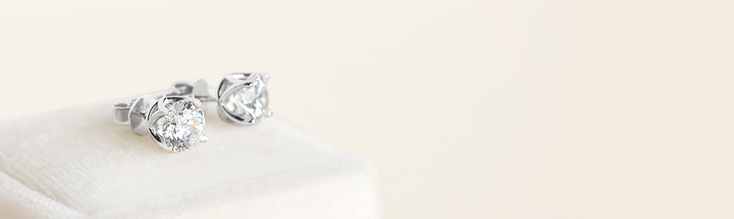 Perfect diamond alternative earrings gift for your bridesmaids