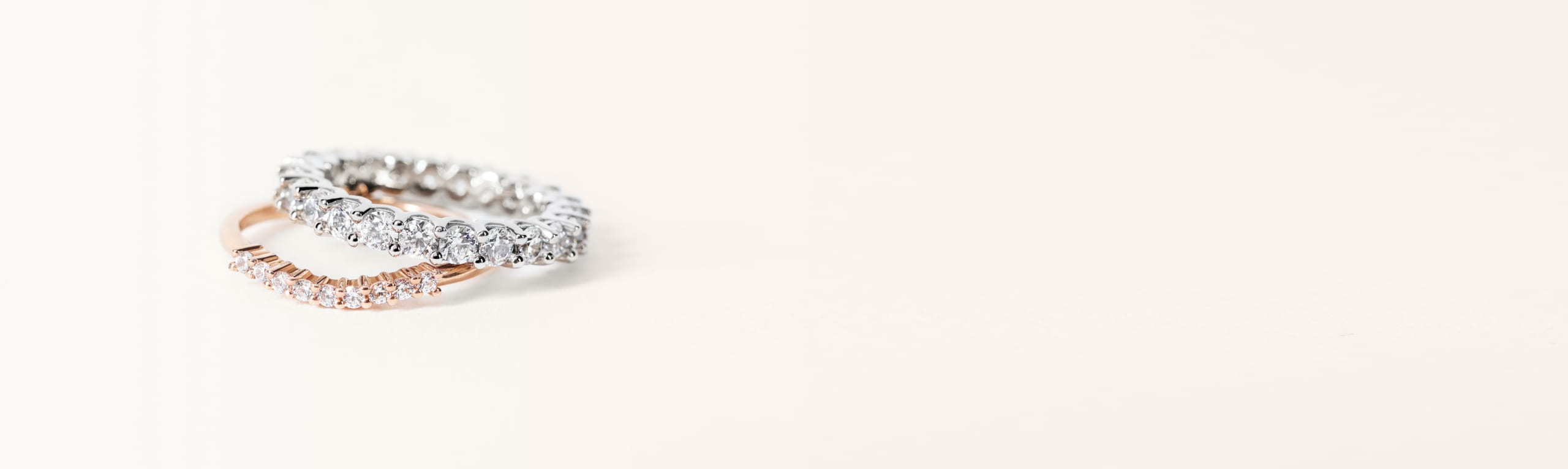 Nesting and Stacking Wedding Bands