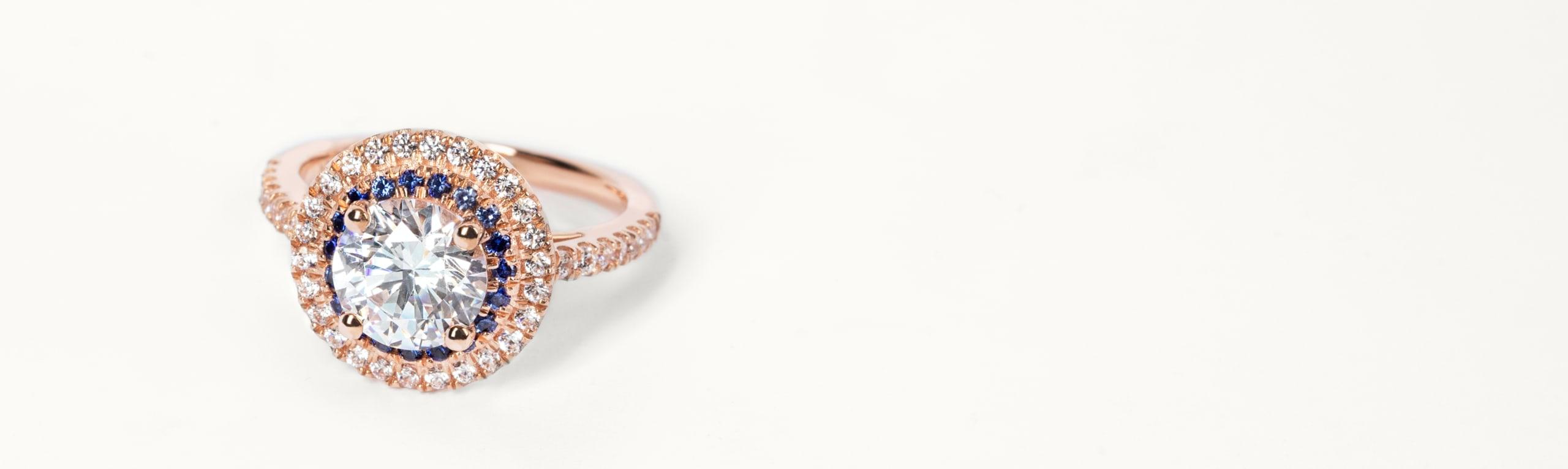 Glamorous Engagement Ring