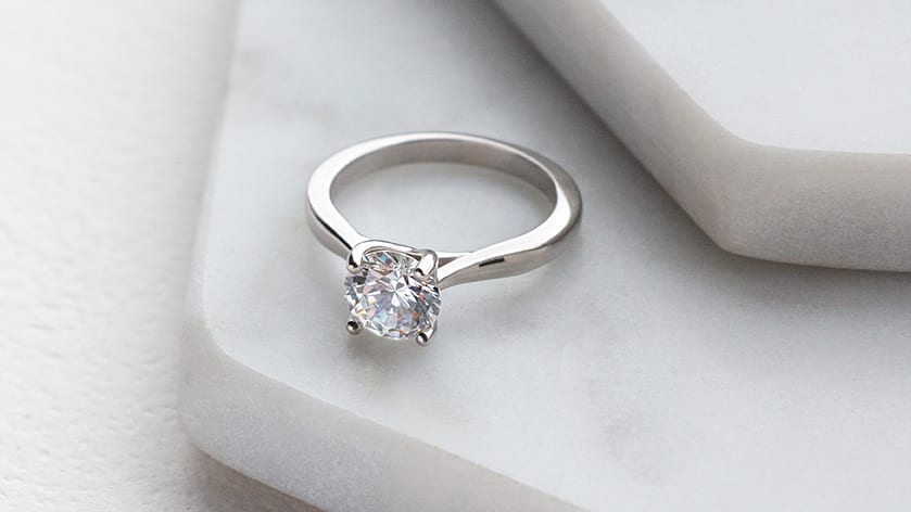 Montreal Round Cut Engagement Ring from Diamond Nexus