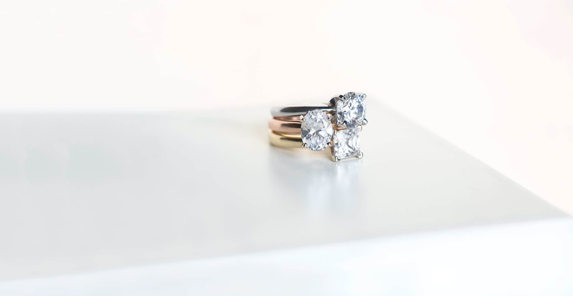 three classic solitaire engagement rings
