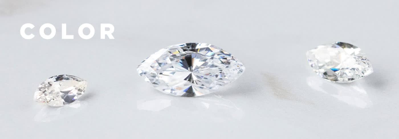A loose Marquise cut Nexus Diamond alternative