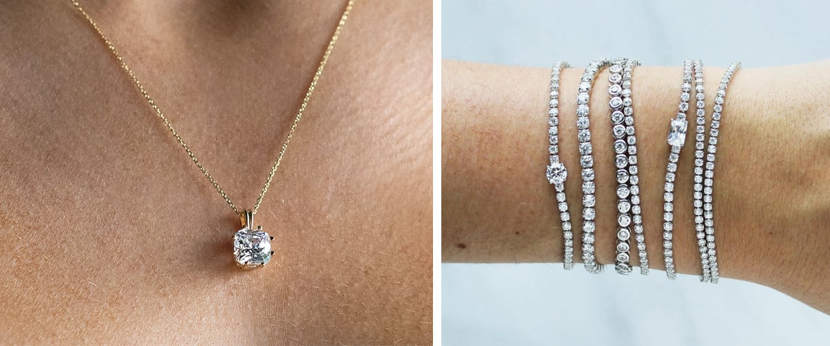 Bold and stackable fine jewelry pieces under $250.