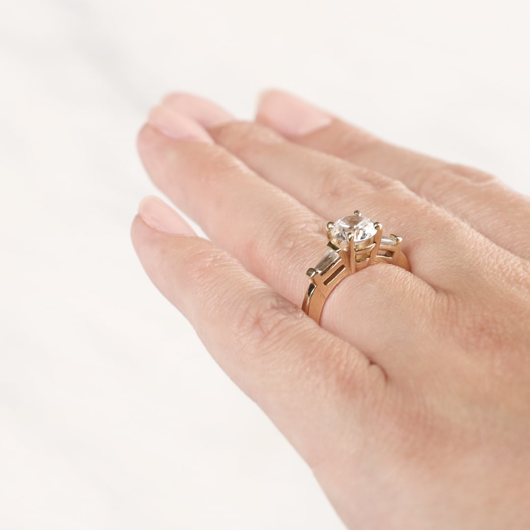 Endless Days Round Cut Engagement Ring