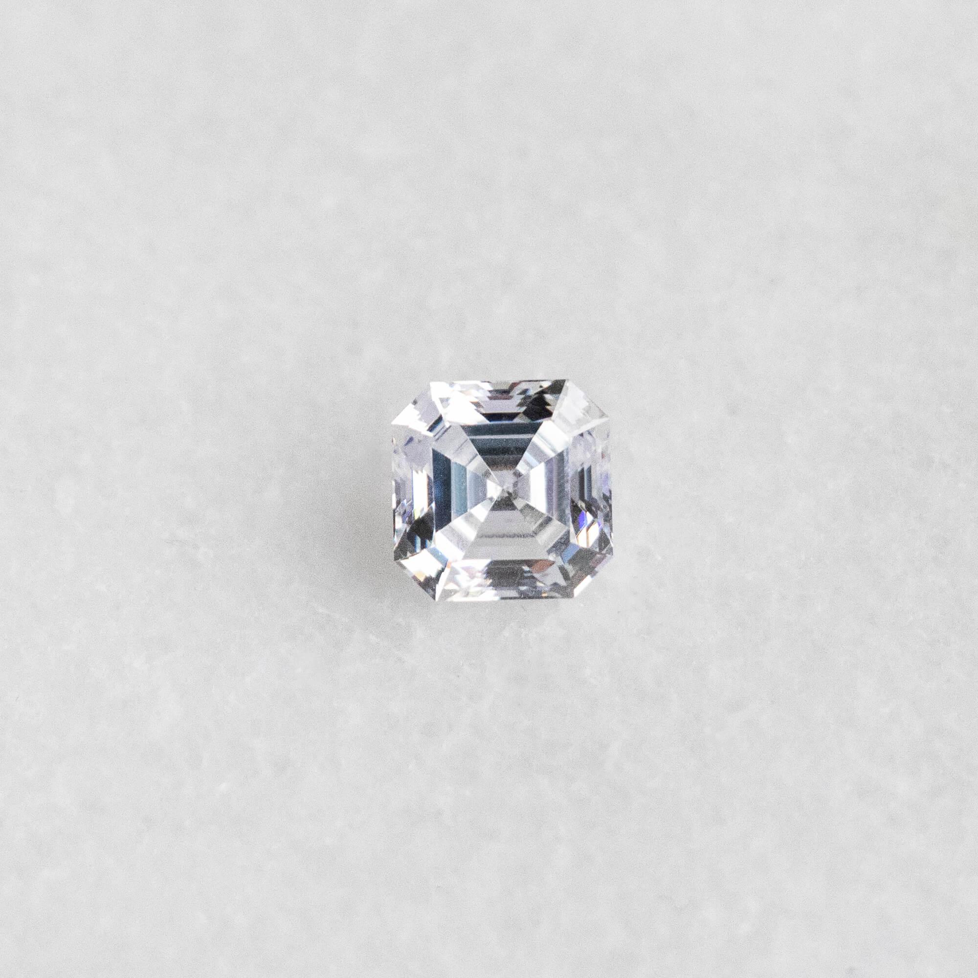 An Asscher Nexus Diamond alternative.