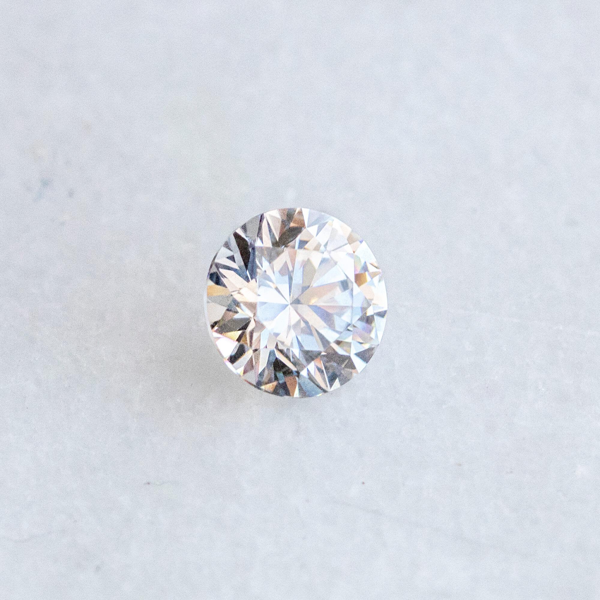 A Round Brilliant Nexus Diamond alternative.