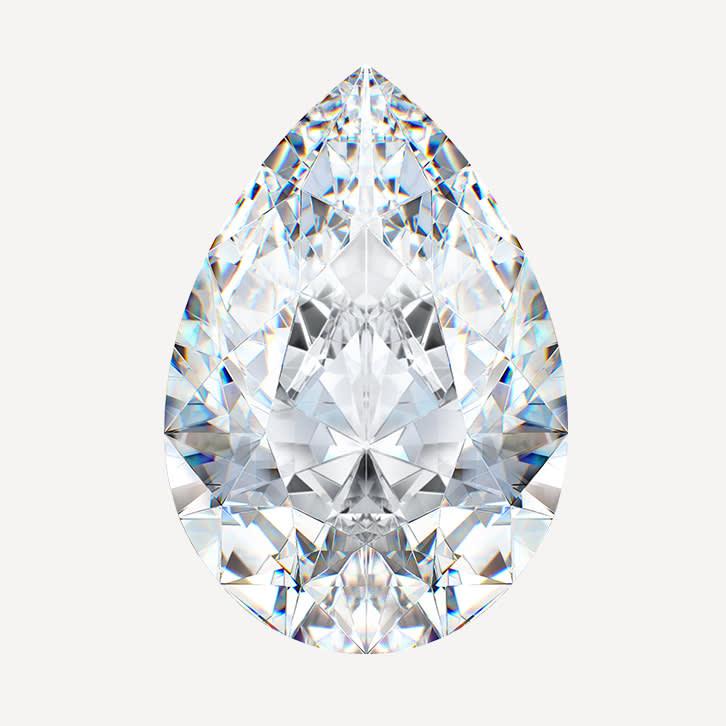 pear cut stone shape