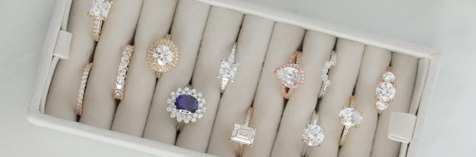 Online engagement rings.