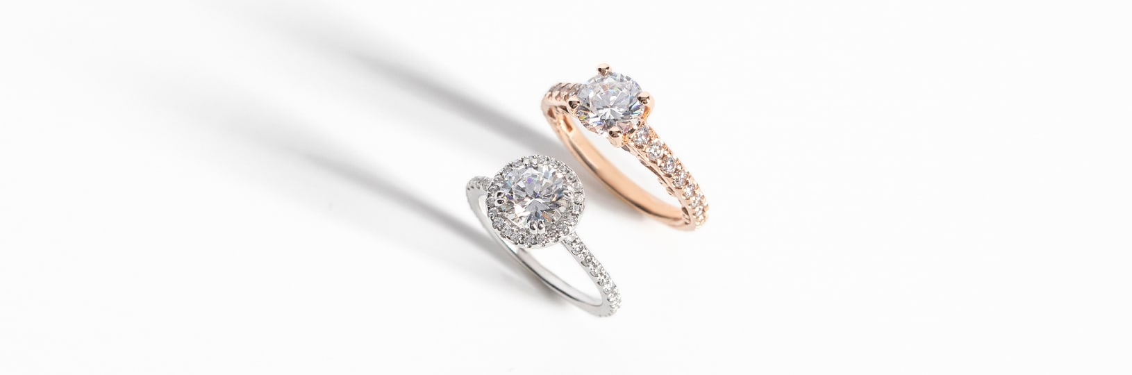 Dainty engagement ring styles