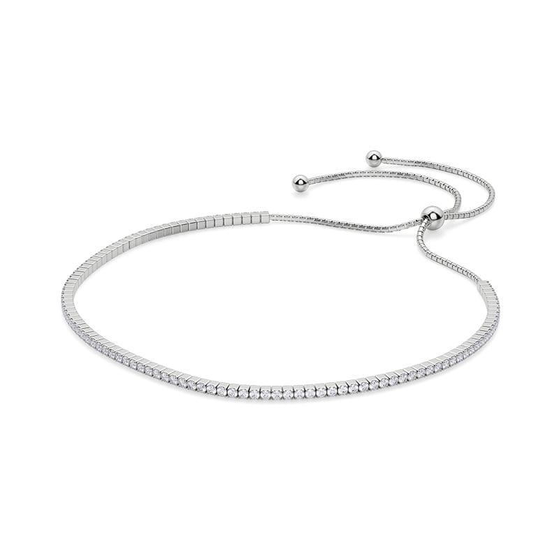 Silver Simply Bound Bracelet 1.62cts