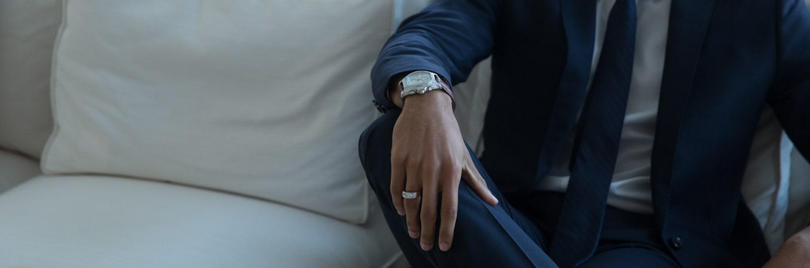 Men's right hand ring