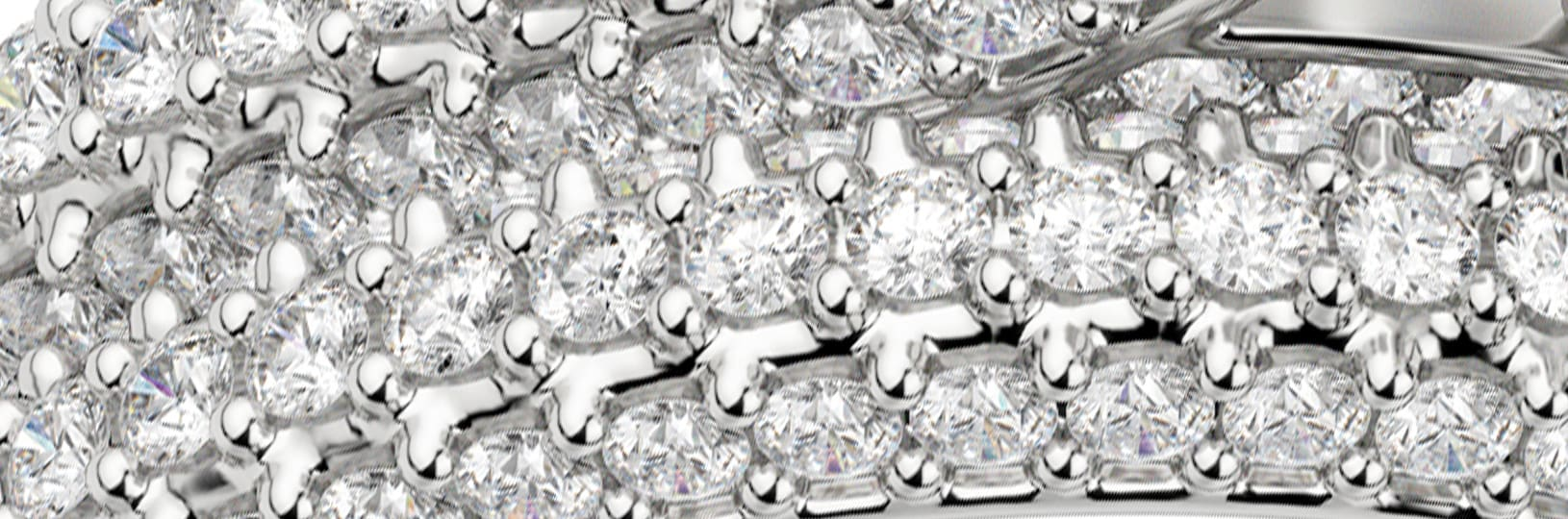 Zoomed in image of pavé stones