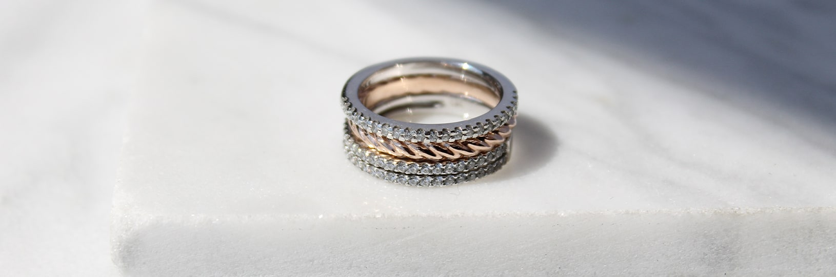 Right hand ring stack
