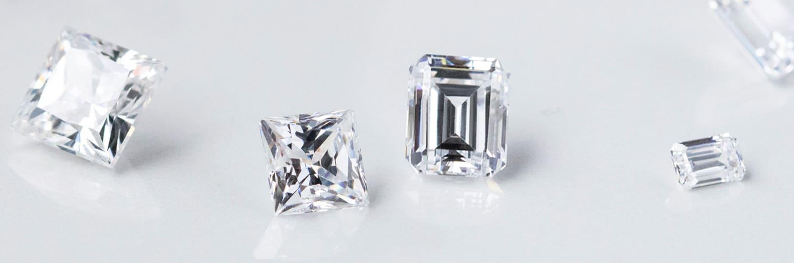 A variety of Nexus Diamond™ alternatives compared side by side