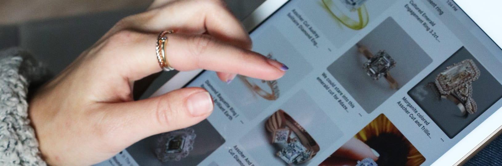Shopping for rings online