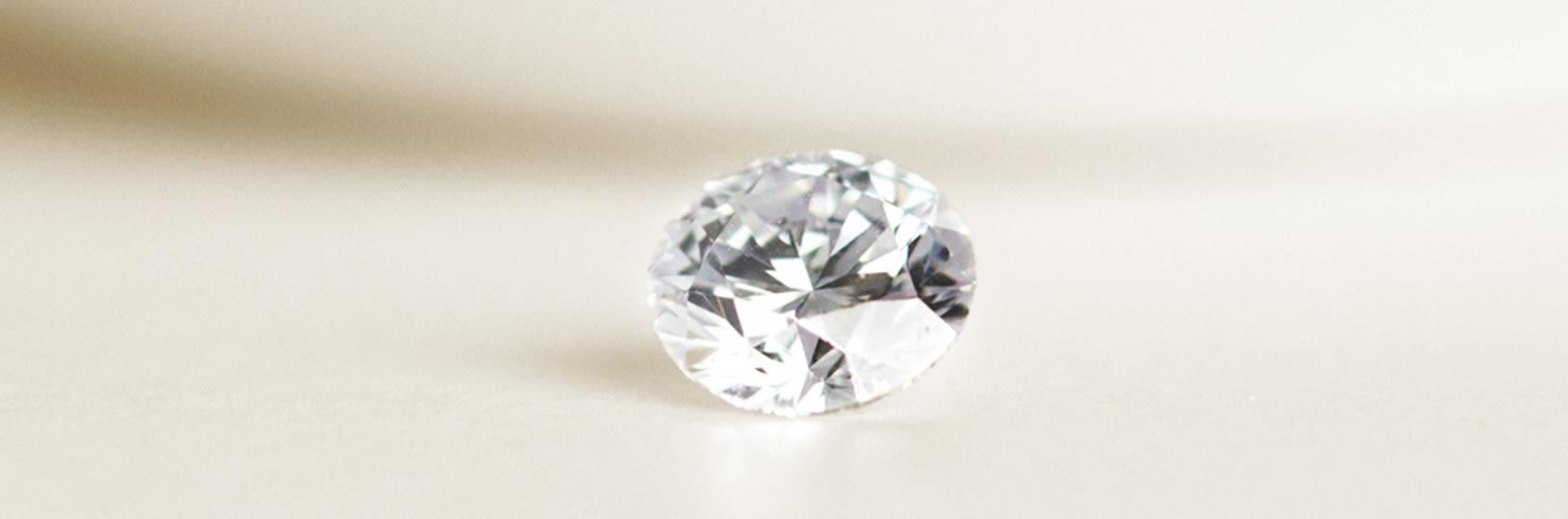 A round cut Nexus Diamond™ alternative